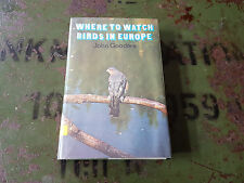 USA Berlin Library System - Where to watch birds in Europe - John Gooders