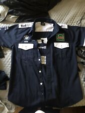 1990's Vintage Bmw Williams Formula 1 F1 Team Pit Crew Medium Shirt