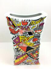 "Rosenthal Vase - Design "" Jan van der Vaart "" Vtg Rosenthal Yves Galgon Moderne"