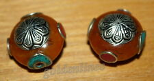 Nepalese tibet beads Amber Resin turquoise 2 nepal Beads Tibetan Beads BDS336
