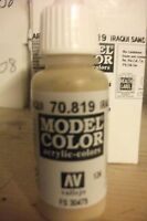MODEL HOBBY PAINT 17ML BOTTLE   VAL819 	 AV Vallejo Model Color - Iraqi Sand