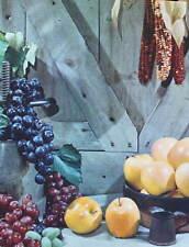 vintage Lithograph 1950s Harvest 2 print