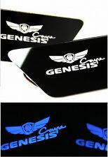 Inside LED Door Catch Plate Blue DIY Modul Kit For 08-14 Hyundai Genesis Coupe