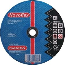 10x Disques a tronconner diametre 125 mm METABO special ALUMINIUM meuler top