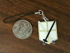 New Attack on Titan Training Corps Shield Cell Phone Charm Strap - Last One!