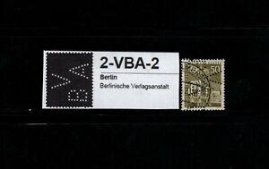 GermanyBerlin (West) Perfin stamp 1956 Mi#150