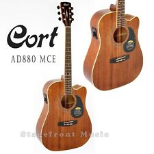 CORT AD880 CEM MAHOGANY ACOUSTIC ELECTRIC CUTAWAY GUITAR  *BRAND NEW*