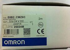 ONE OMRON E6B2-CWZ6C 200P/R Rotary Encoder NEW