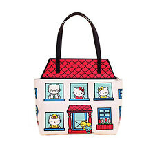 Loungefly Hello Kitty White House Bag Tote NEW Women's Carrier