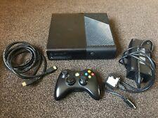 XBOX 360 E Console Black 250 GB Complete - FREE P+P