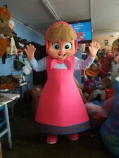 MASHA E ORSO Mascotte Costume Party Halloween per adulti Carattere Cosplay evento