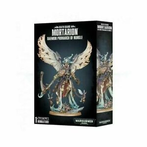Warhammer 40K Death Guard Mortarion, Daemon Primarch of Nurgle 43-49 BNIB