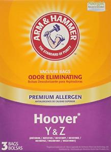 Arm & Hammer 67978GQ Hoover Type Y&Z Premium Allergen Vacuum Bag,White