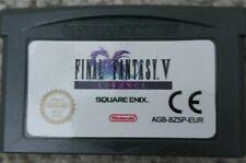 Final Fantasy V 5 gba FF5 FFV Game Boy Advance GBA