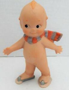 Vintage Kewpie Rosie O'Neill Jesco 1994 Porcelain SKATER Doll - Signed