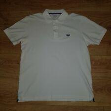 Adidas Originals Mens Classic White Polo Tennis Shirt - SIZE LARGE