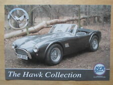 HAWK CARS LTD 1.8 2.6 289 LE MANS orig UK Mkt Leaflet Brochure - AC Cobra Kit