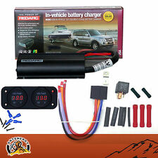 REDARC BCDC1225 DUAL BATTERY ISOLATOR RK1260 KIT DC TO DC CHARGER MPPT SOLAR