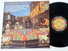 The Kinks - Original Hits - rare 1979 france Kaleidoscope Car-Cover LP
