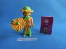 Playmobil Serie 11 Vendedora Mujer Flor  Blumenfrau Flower Woman 9147