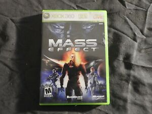 Xbox 360 Mass Effect --  (Microsoft Xbox 360, 2009)  Complete