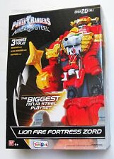 Power Rangers HUGE Play Set Lion Fire Fortress Zord for Action Figures NEW