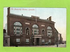 The Assembly Rooms Leicester pc unused Albion Ref E348