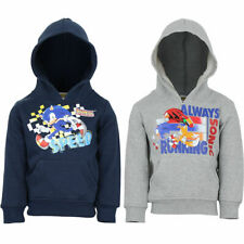 Boys Sonic The Hedgehog Hoodies Tracksuit Top Size 2 3 4 5 6 7 8 Years Casual