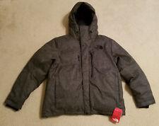 North Face HIMALAYAN LIFESTYLE Down JACKET Coat Mens XL TNF Black Tweed New NWT