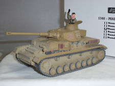 BRITAINS 17460 423 GERMAN WORLD WAR TWO PANZER TANK TOY SOLDIER VEHICLE + DRIVER