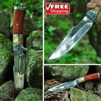 Straight Knife Hunting 2019 Outdoor Camping Self-defense Tactical Fixed Blade