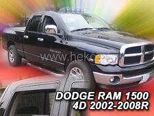 Deflectores de viento HEKO para DODGE RAM 1500 4 puertas 2002-2008 4 de piezas 13415