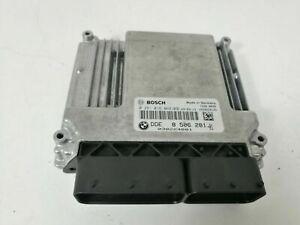 BMW 1er E87 116d Motorsteuergerät Steuergerät Motor Bosch 0281016068 / 8506281