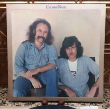 """CROSBY NASH """"Whistling Down The Wire"""" 1976 LP ABC ABCD-956  Lyrics/Photo  NM/VG+"""