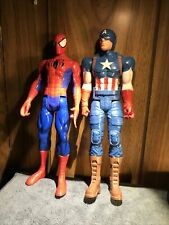 Marvel 12 inch Action Figures Lot