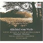 Fanny & Felix Mendelssohn Choral Musik, Vocal Concert Dresden, Audio CD, New, FR