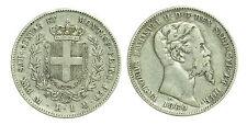 pci0433) Sardegna Vittorio Emanuele II (1849-1861) 1 Lira 1860 MI