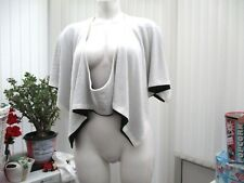 """""""RE Dial Luxury"""" femme noir et blanc Top b.n.w.t. Freesize"""