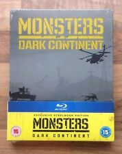 MONSTERS 2 - DARK CONTINENT - EXCLUSIVE STEELBOOK EDITION - BRAND NEW & SEALED