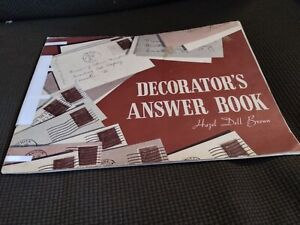 Decorator's Answer Book Armstrong Linoleum Vintage Flooring Hazel Dell Brown