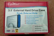3.5 Inch IDE USB External Hard Drive Enclosure Caddy Case Computer