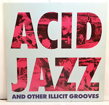 ACID JAZZ AND OTHER ILLICIT GROOVES 1988 vinyl record LP disco vinile ORIGINAL