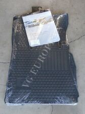 Mercedes Benz W221 S-Class Genuine Rubber All Season Floor Mat Set Black 6680674