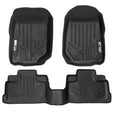 Maxliner 07-13 Jeep Wrangler Unlimited 4dr Floor Mats 1st 2nd Row Seats Black