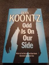 Dean Koontz - Odd is on our Side - graphic novel signed by Queenie Chan