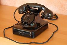 Altes Siemens Post Telefon Bakelit  W 48  funktioniert Vintage mid century