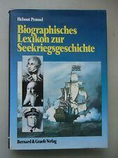 Biographisches Lexikon zur Seekriegsgeschichte Seehelden Antike bis Gegenwart