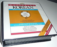 Mastering Korean Barrons Diplomatic Course Set : Book + 12 Cassettes