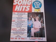 Partridge Family, The Fifth Dimension, Dolly Parton - Song Hits Magazine 1971