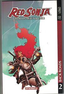 RED SONJA WORLDS AWAY Vol 2 Back Roads TP TPB $19.99srp Amy Chu #7-11 NM NEW